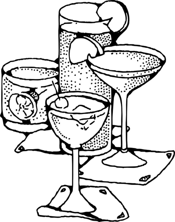 drinks coloring pages drinks coloring pages for childrens printable for free pages drinks coloring