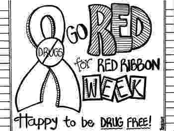 drug free coloring pages red ribbon week coloring sheet by koolkat39s art bin tpt drug pages coloring free