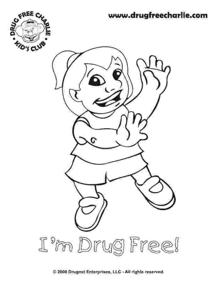 drug free coloring pages say no to drugs coloring pages printable sketch coloring page drug free coloring pages