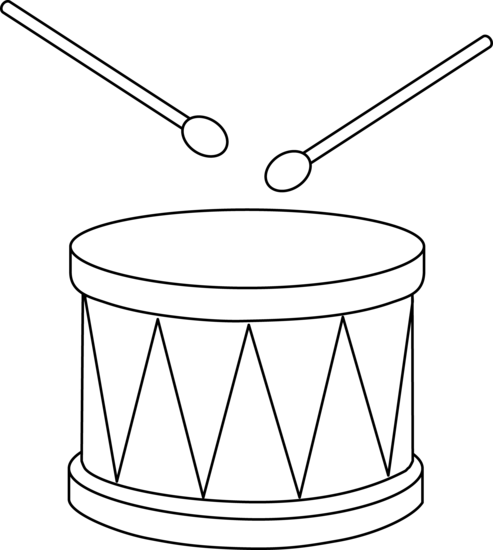 drums coloring page toy drum outline cards music drums drum cake drum craft coloring drums page