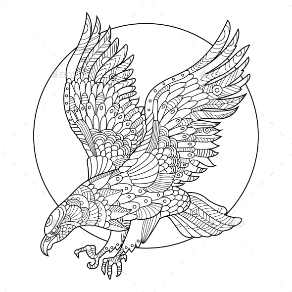 eagle adult coloring pages 17 best images about eagle coloring pages on pinterest pages adult coloring eagle