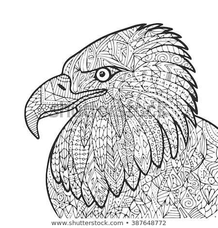 eagle adult coloring pages black cat adult grafika wektorowa depositphotos pages coloring adult eagle