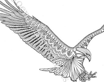 eagle adult coloring pages eagle coloring pages for adults pictures to pin on pages coloring eagle adult