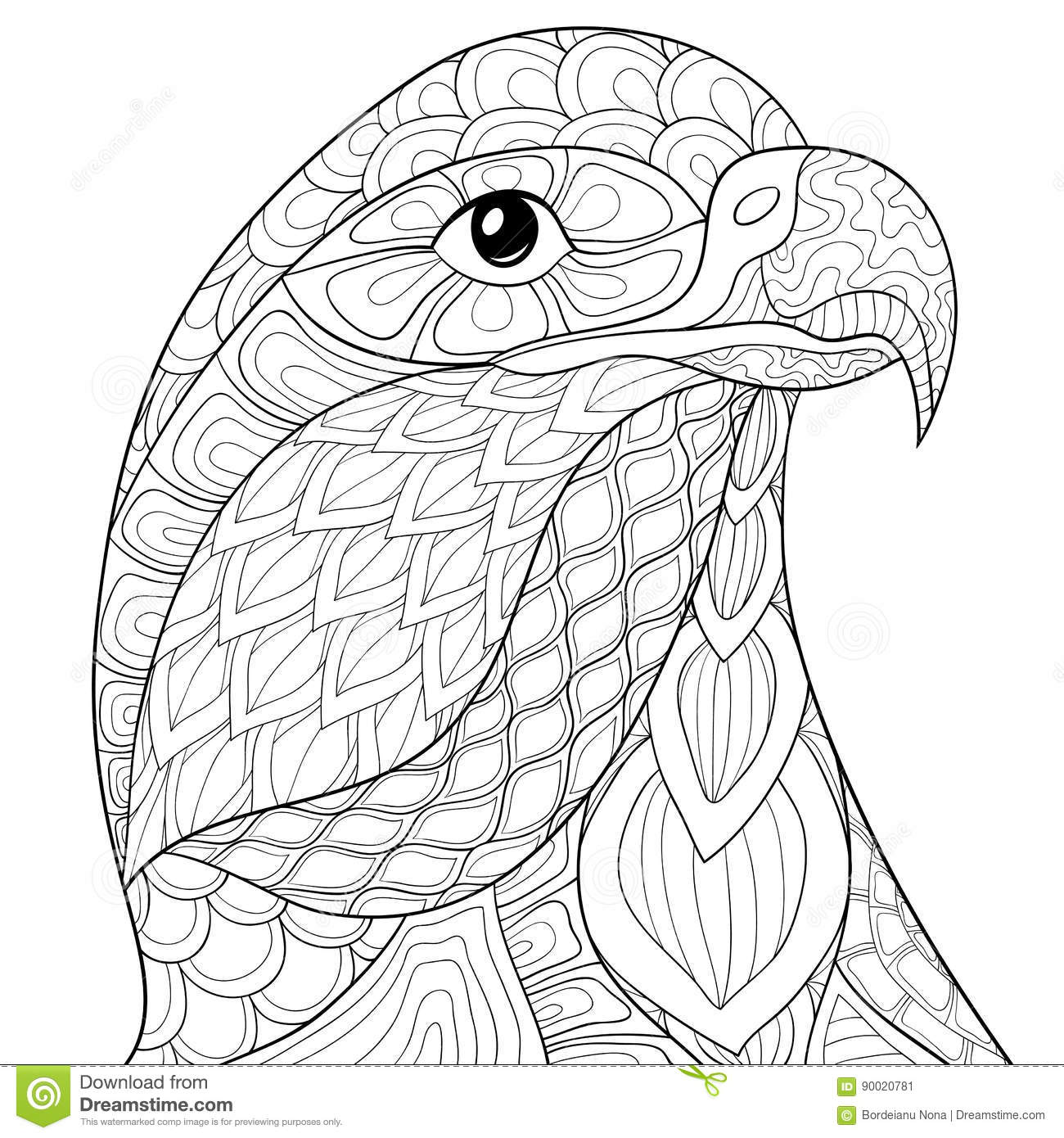 eagle adult coloring pages eagle hawk falcon coloring pages for independence day coloring eagle adult pages