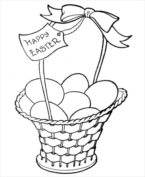 easter basket coloring pages easter basket coloring page twisty noodle easter coloring pages basket