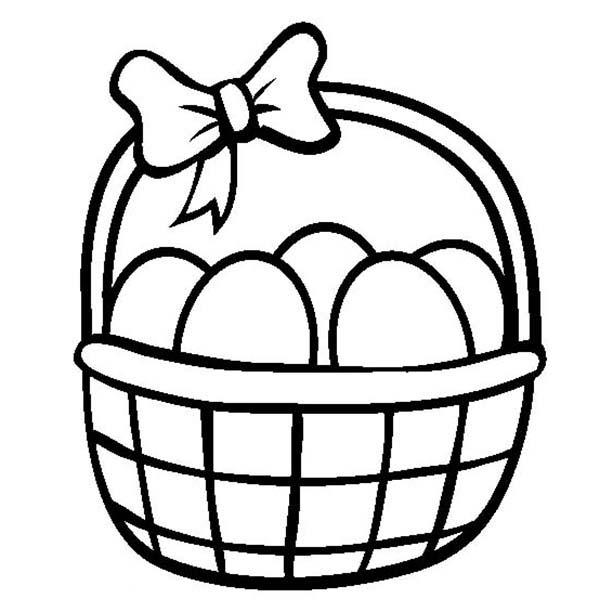 easter basket coloring pages easter basket coloring pages free coloring pages easter coloring basket pages