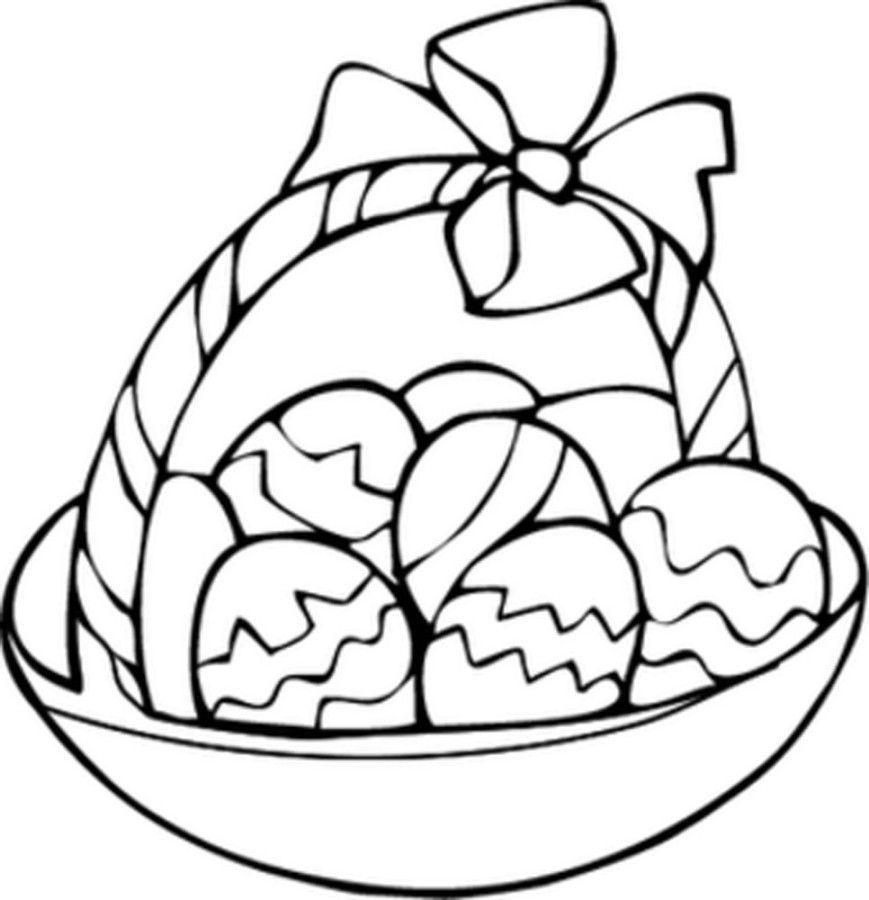 easter basket coloring pages easter egg basket coloring page netart basket easter pages coloring