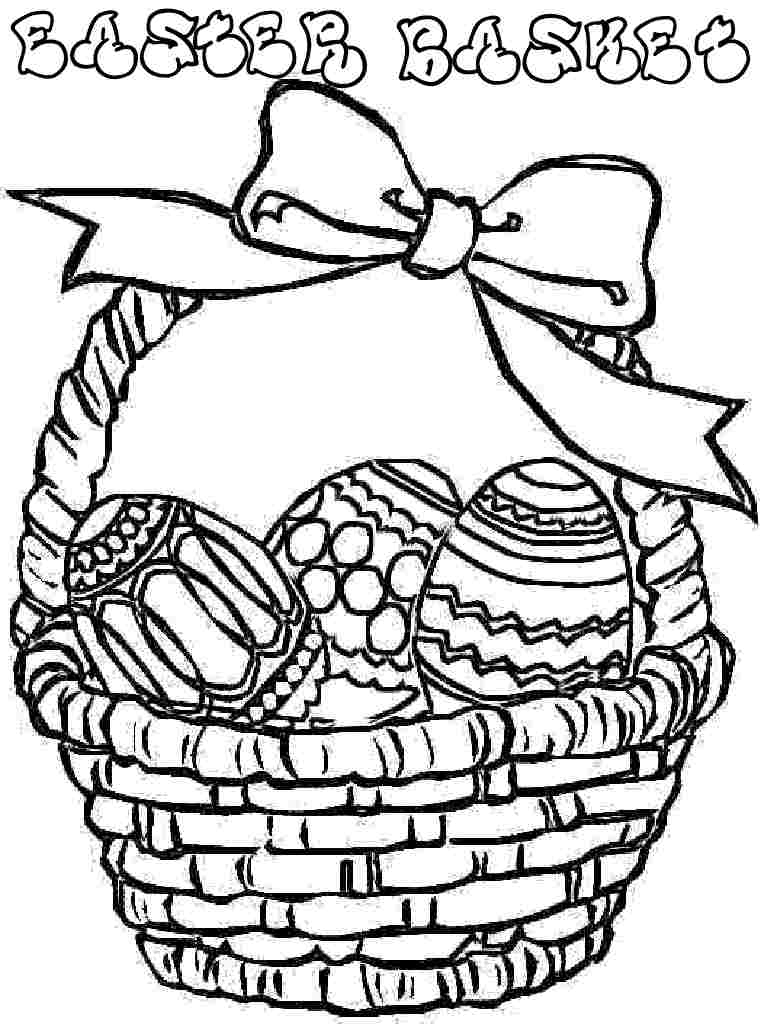 easter basket coloring pages free coloring pages easter basket coloring pages pages easter basket coloring