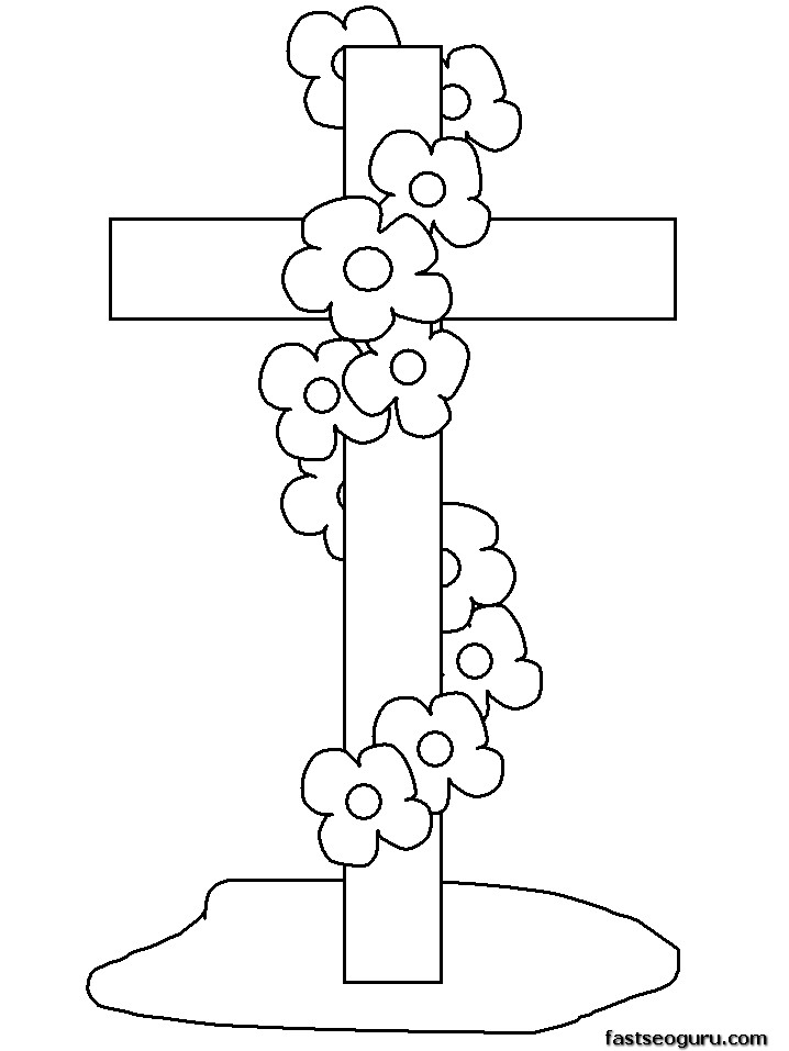 easter cross coloring page easter blessing coloring page twisty noodle cross page coloring easter