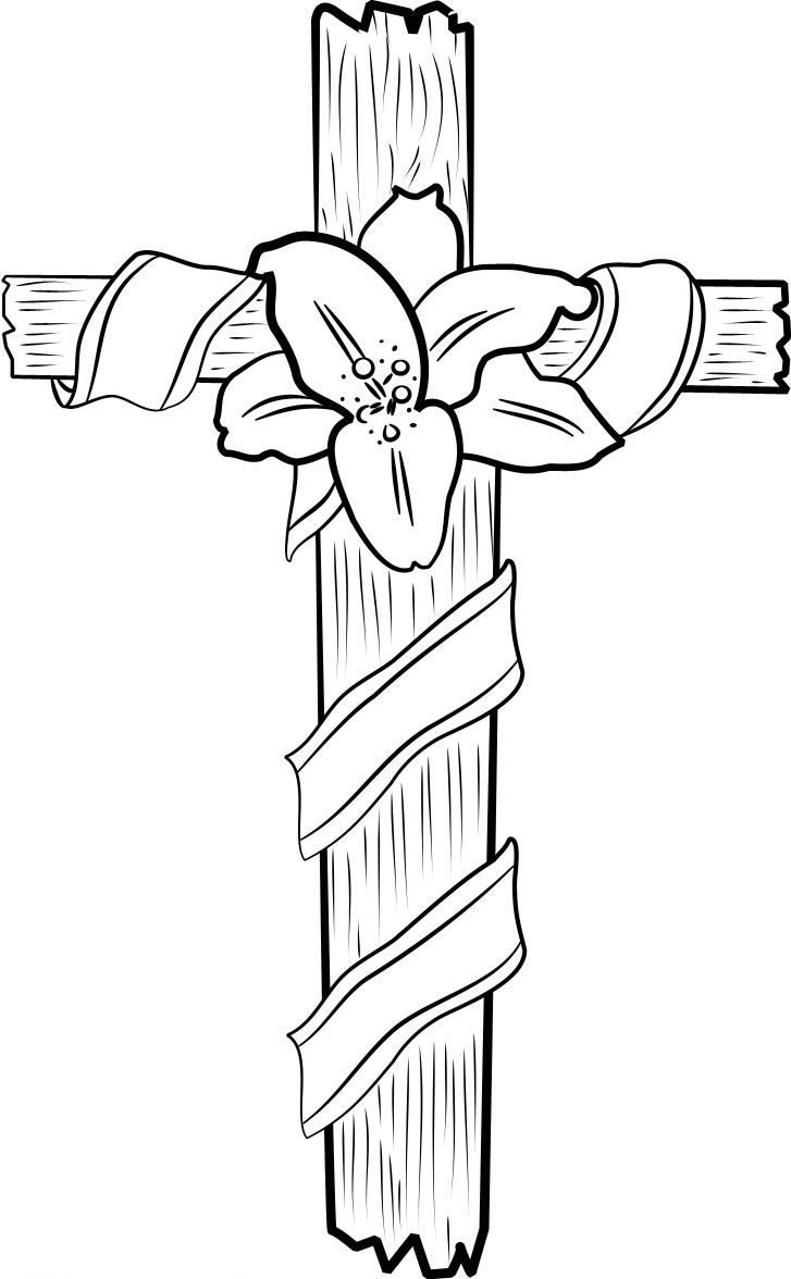 easter cross coloring page easter lily cross coloring page in two sizes 85x11 bible coloring easter cross page