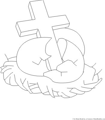 easter cross coloring page easter template have fun with free printables easter easter cross page coloring