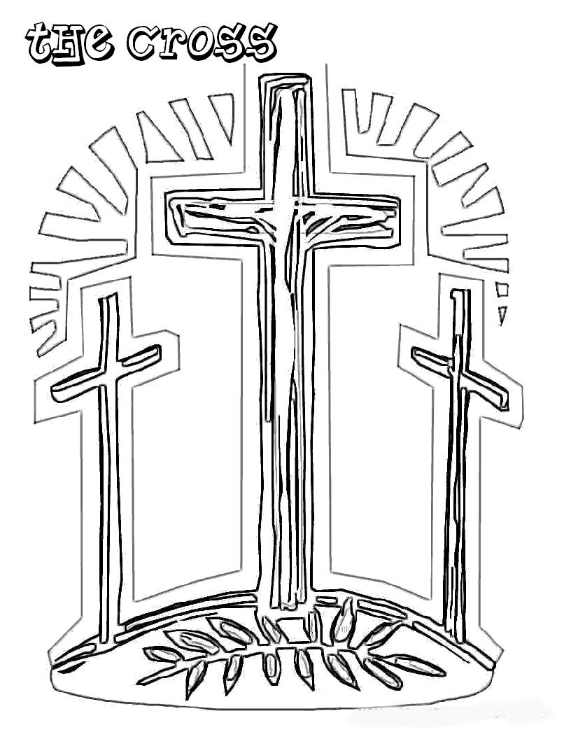 easter cross coloring page free printable cross coloring pages cross page easter coloring