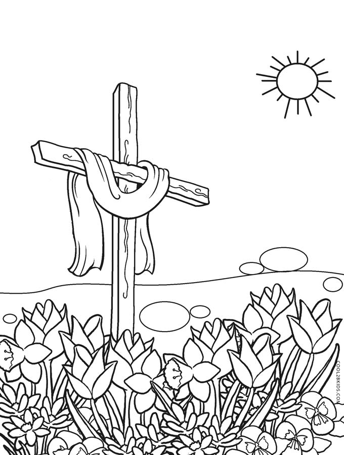 easter cross coloring page free religious easter printables creative coloring blog easter cross page coloring