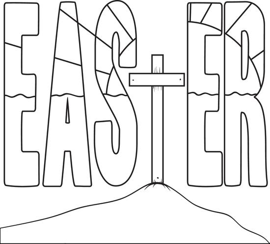 easter cross coloring page religious easter coloring pages best coloring pages for kids coloring easter page cross