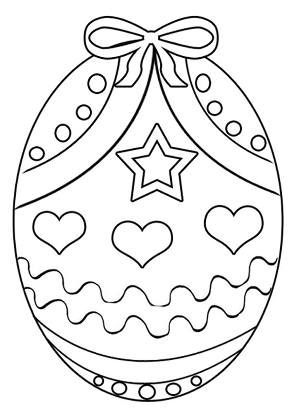 easter egg color page easter coloring pages best coloring pages for kids color easter egg page