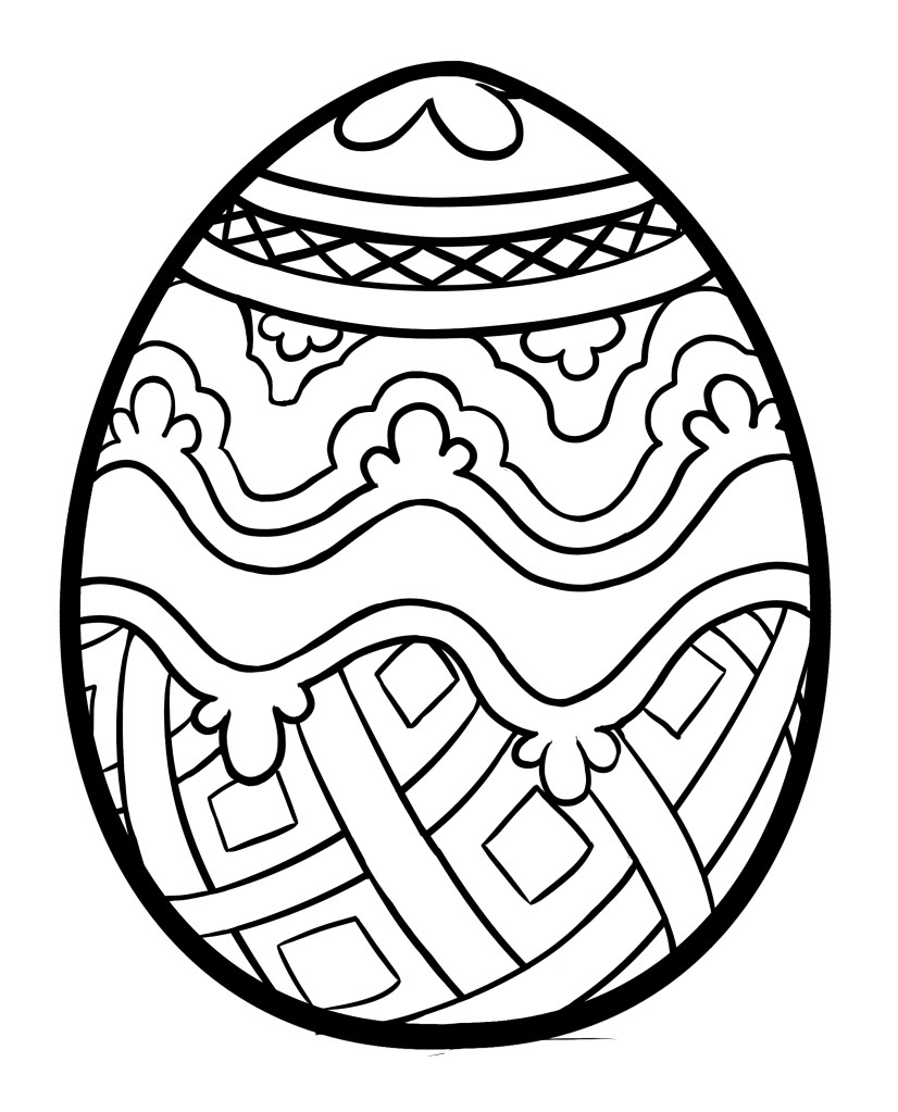 easter egg color page easter egg coloring pages twopartswhimsicalonepartpeculiar page egg color easter