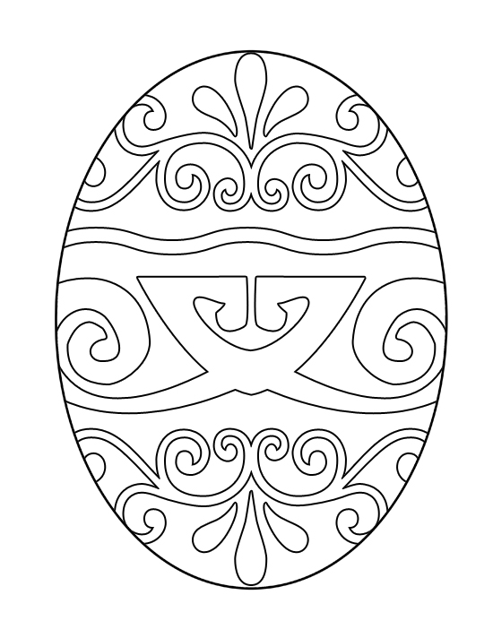 easter egg color page easter eggs surprise coloring page crayolacom egg easter page color