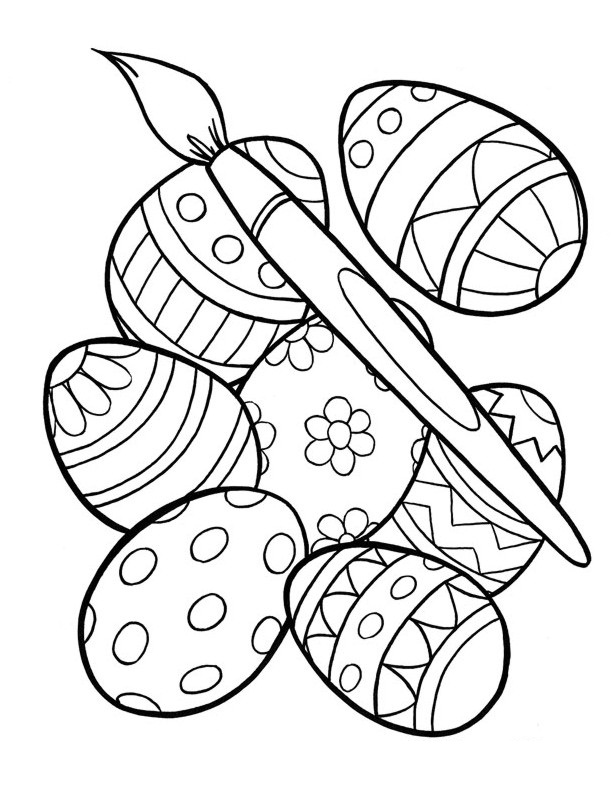 easter egg color page free printable easter egg coloring pages for kids color egg page easter