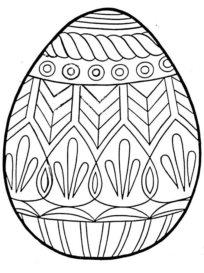 easter egg color page free printable easter egg coloring pages for kids easter egg page color