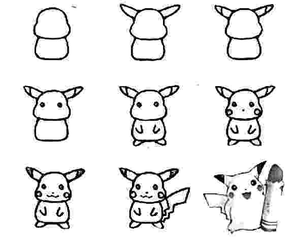 easy pokemon to draw easy drawing of pokemon at getdrawingscom free for to pokemon easy draw
