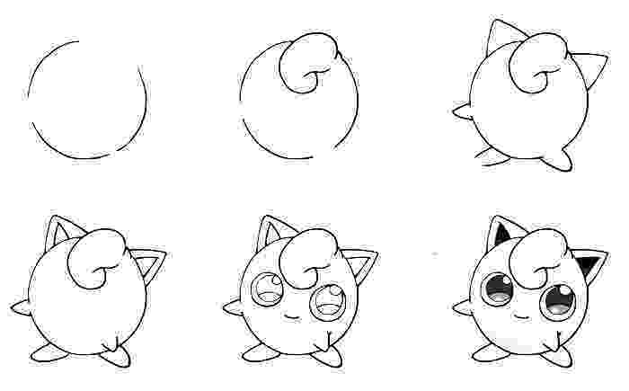 easy pokemon to draw how to draw marill draw central draw to pokemon easy