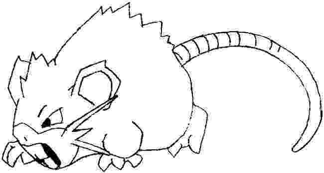 easy pokemon to draw how to draw rattata from pokemon with easy steps drawing draw easy pokemon to
