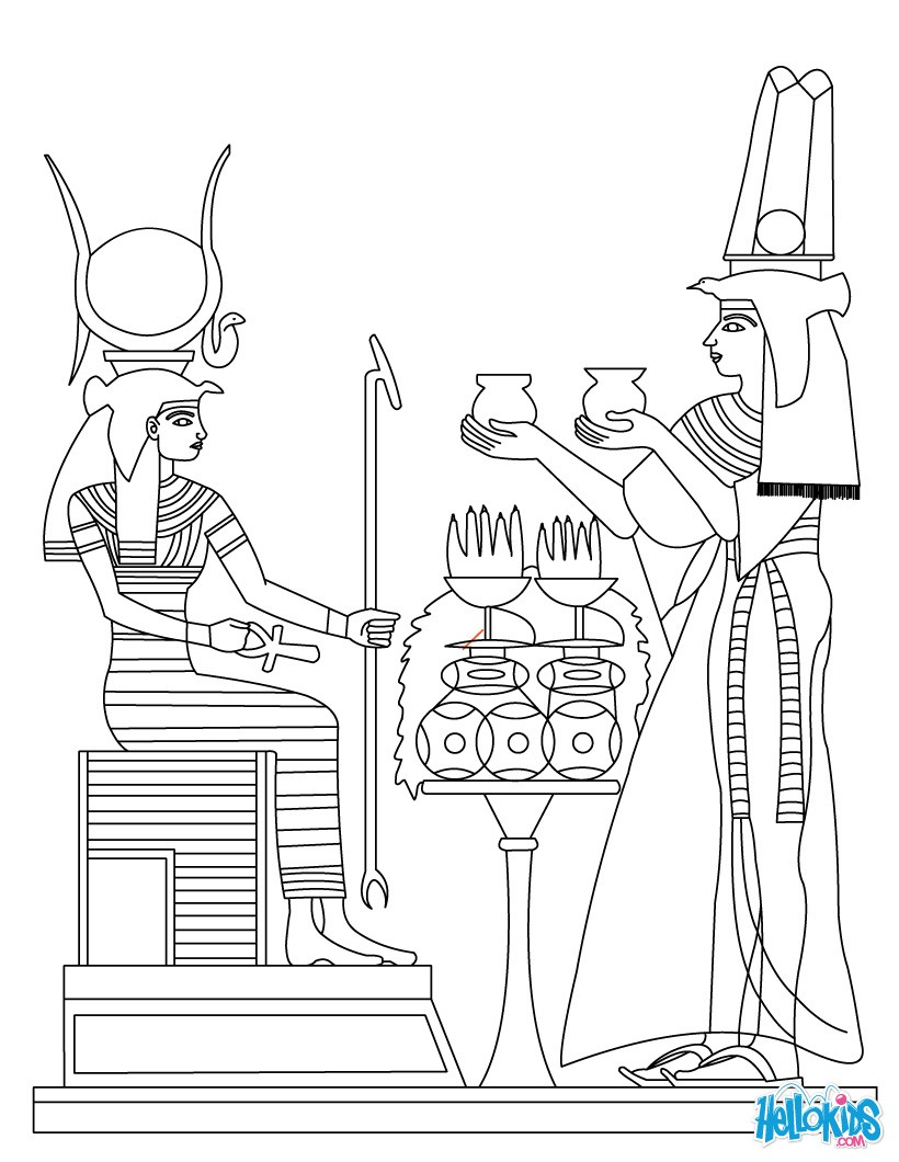 egyptian coloring pages printable ancient egypt art coloring pages hellokidscom coloring pages printable egyptian