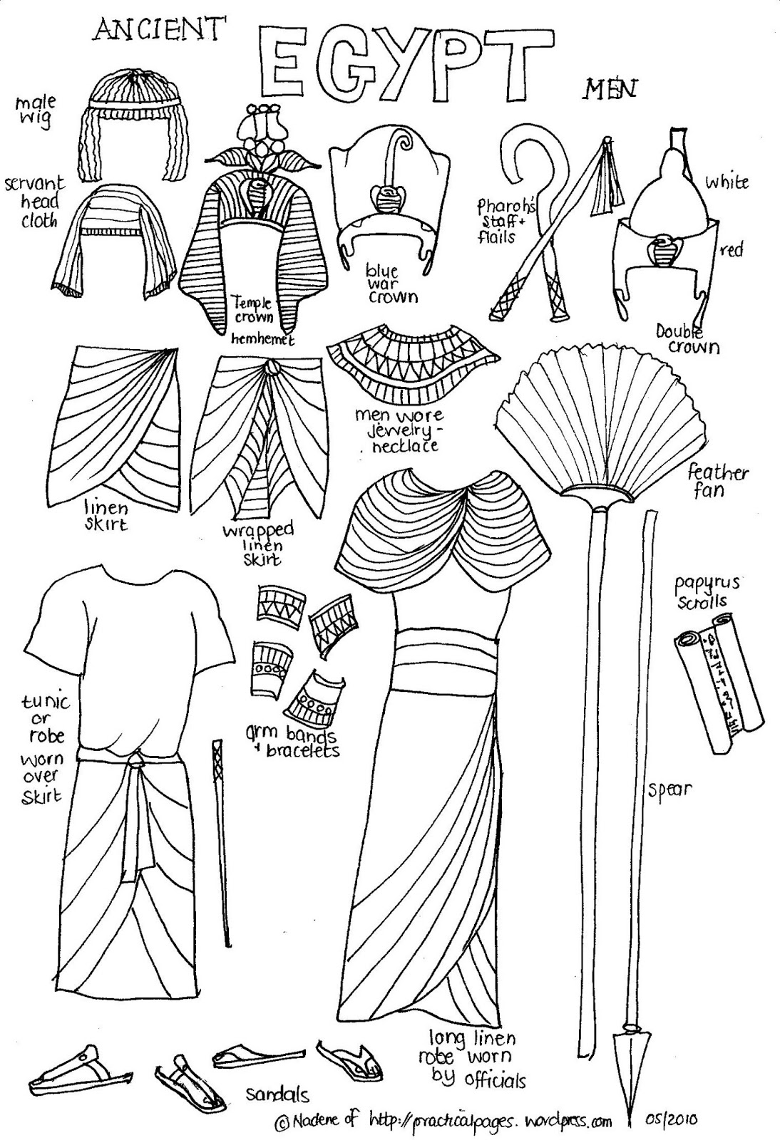 egyptian coloring pages printable segundo ciclo de ep pages egyptian printable coloring