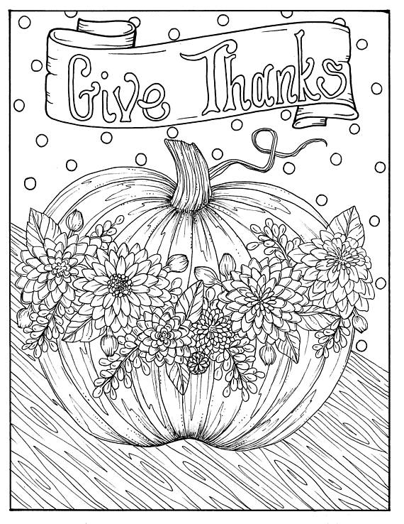 electronic coloring book for adults give thanks digital coloring page thanksgiving harvest book adults electronic for coloring