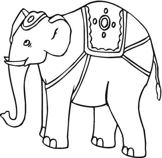 elephant coloring page free elephant coloring pages elephant coloring page