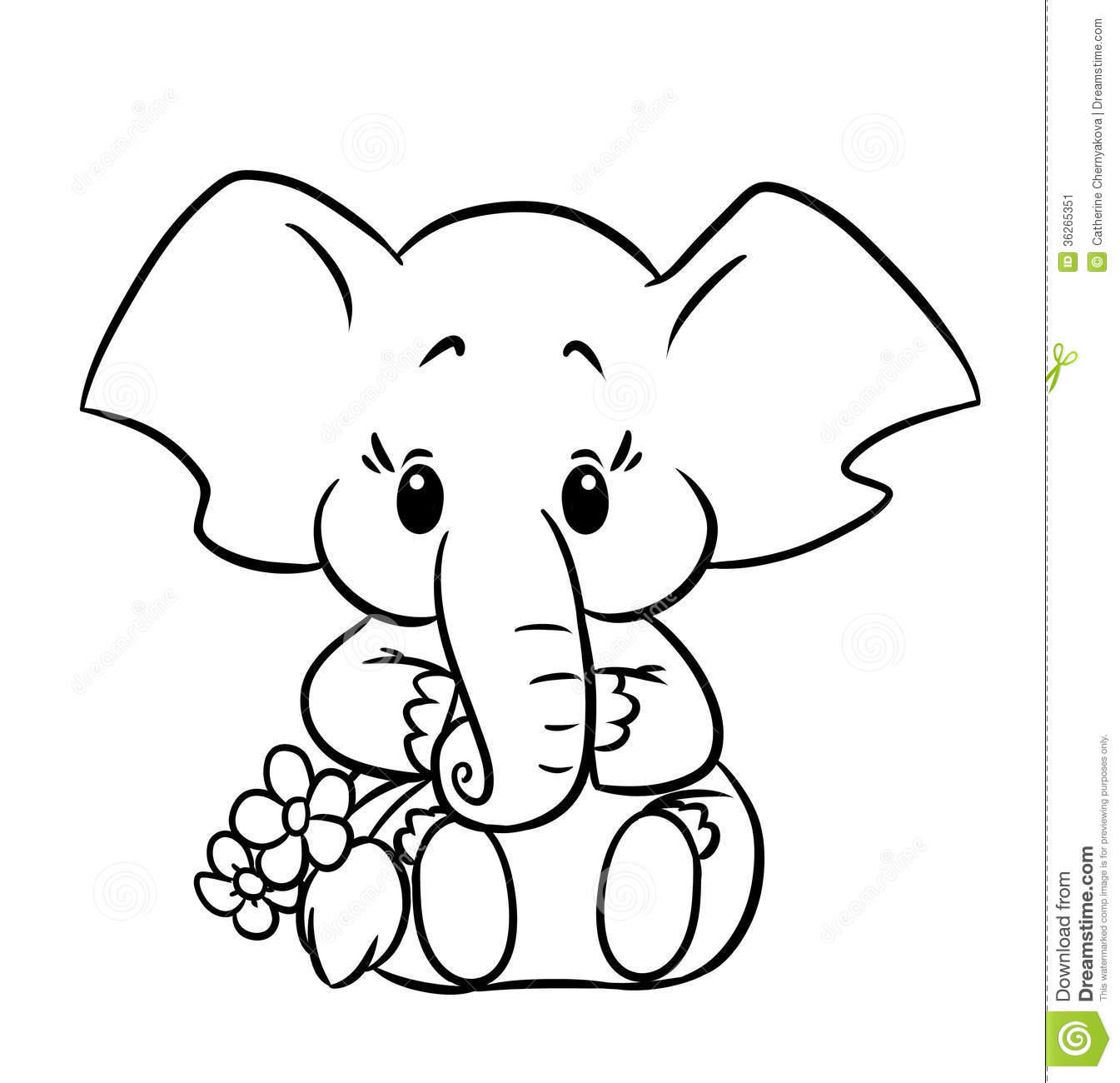 elephant coloring pictures baby elephant coloring pages to download and print for free pictures elephant coloring