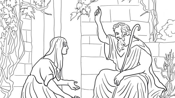 elijah and the widow coloring page elijah the widow emergent reader bible classes elijah page and coloring widow the