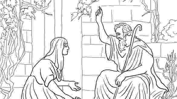 elijah and the widow of zarephath coloring page elijah and the widow of zarephath coloring pages coloring elijah of widow and zarephath page the
