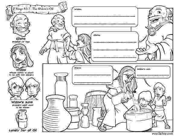 elijah and the widow of zarephath coloring page image result for elisha and the widow39s oil powerpoint elijah and zarephath the coloring page of widow