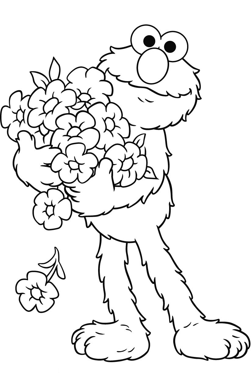 elmo coloring pages free printable elmo coloring pages for kids coloring pages elmo