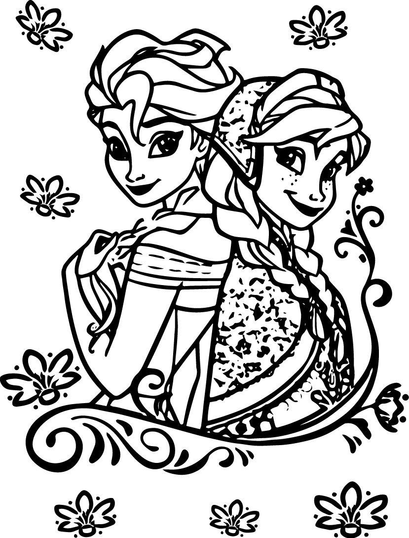 elsa and anna coloring printables 12 free printable disney frozen coloring pages anna coloring and elsa anna printables