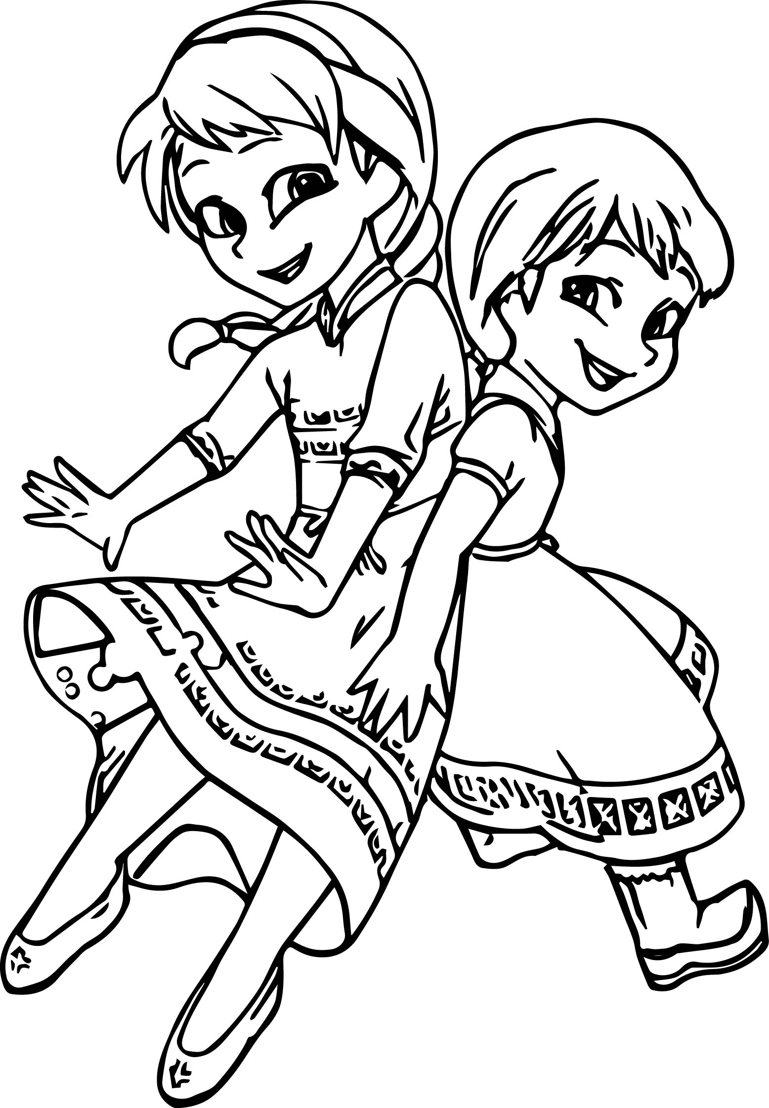 elsa and anna coloring printables anna and elsa coloring pages to print coloring pages elsa anna and coloring printables