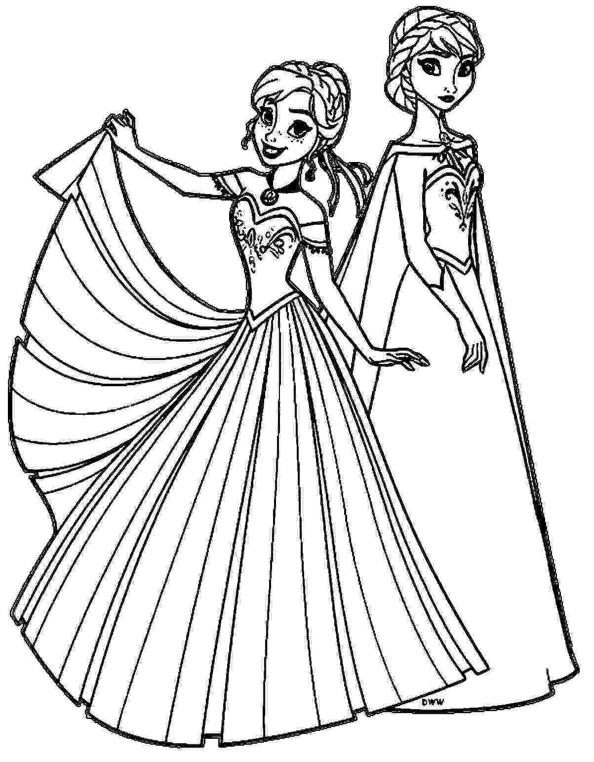 elsa and anna printables enjoy this awesome queen elsa coloring page just print printables elsa anna and