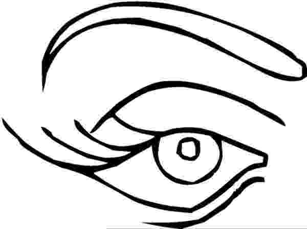 eyes for coloring eyes outline clip art at clkercom vector clip art coloring eyes for
