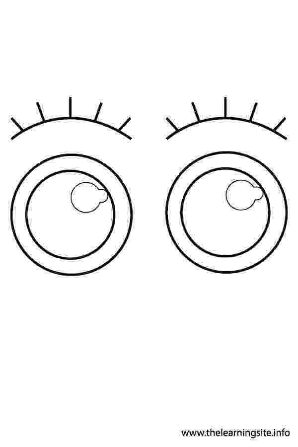 eyes for coloring free vector graphic eye optics eyelashes iris lid coloring for eyes
