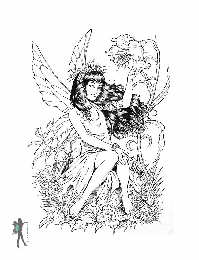 fairies coloring pages winking fairy coloring page free printable coloring pages coloring pages fairies