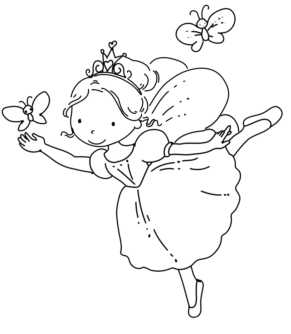 fairy coloring page enchanted designs fairy mermaid blog free fairy coloring page fairy