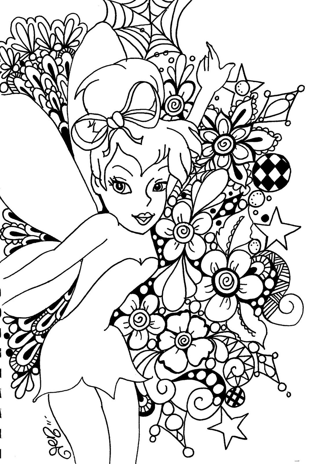 fairy coloring page fairy coloring pages fairy page coloring