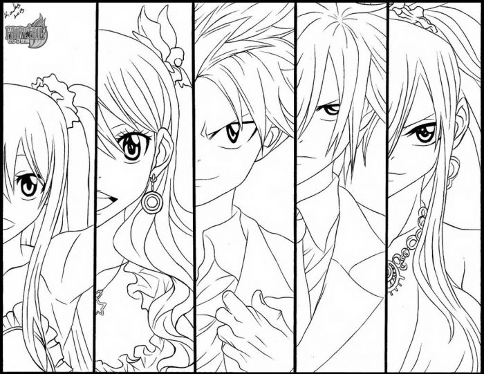 fairy tail manga color anime fairy tail coloring pages anime top wallpaper color fairy tail manga