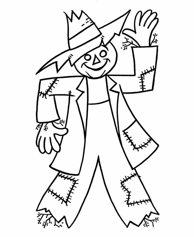 fall harvest coloring pictures autumn scene with scarecrow coloring page free printable coloring fall harvest pictures