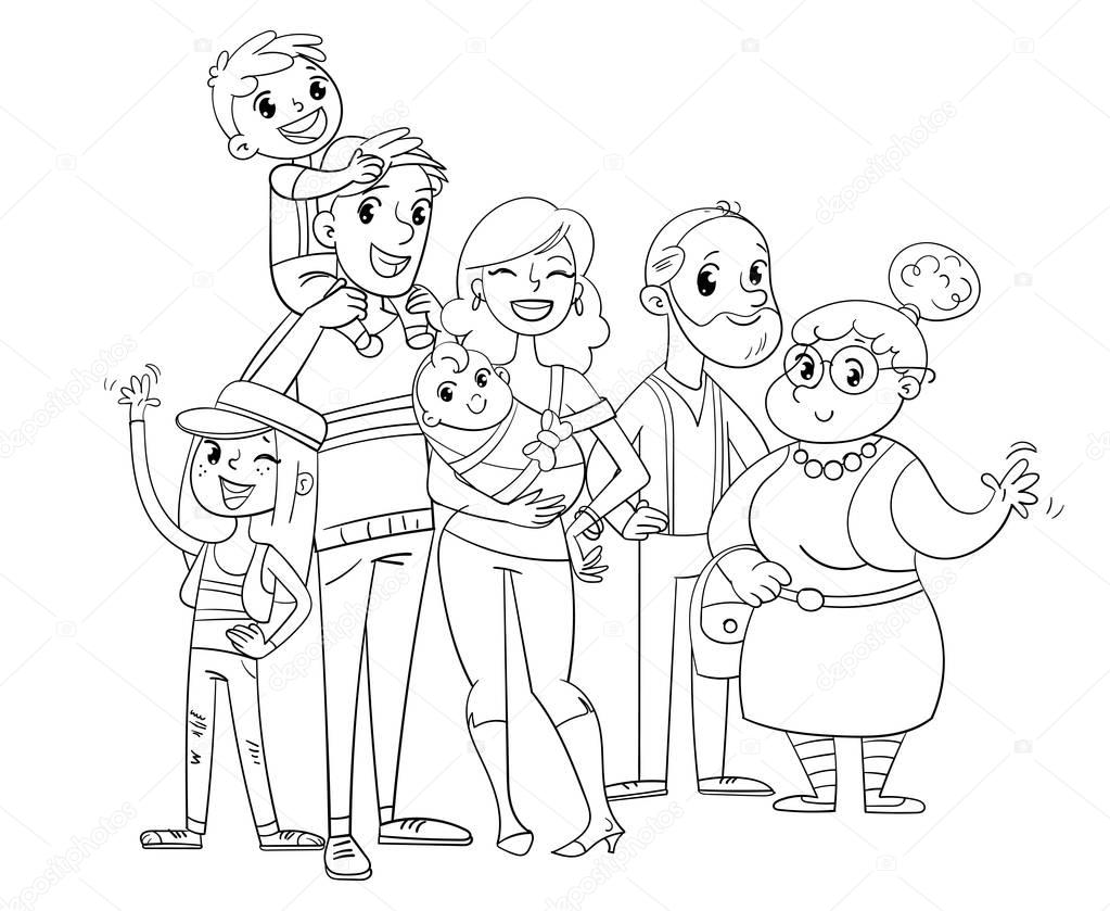 family coloring sheets coloring pages of family coloring home coloring sheets family