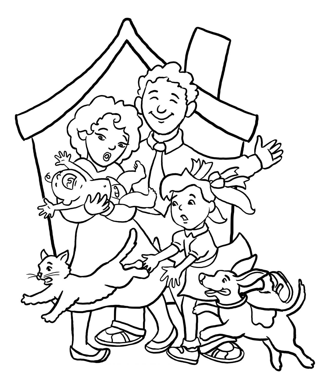 family coloring sheets family coloring pages coloring pages to download and print coloring sheets family