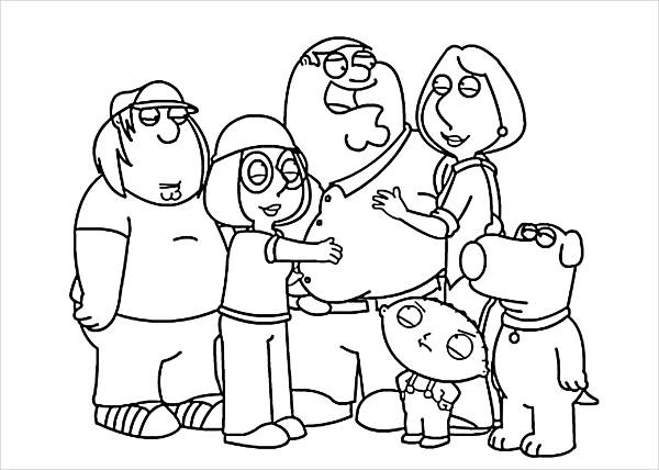 family coloring sheets family kids coloring pagejpg 21292722 preschool sheets coloring family