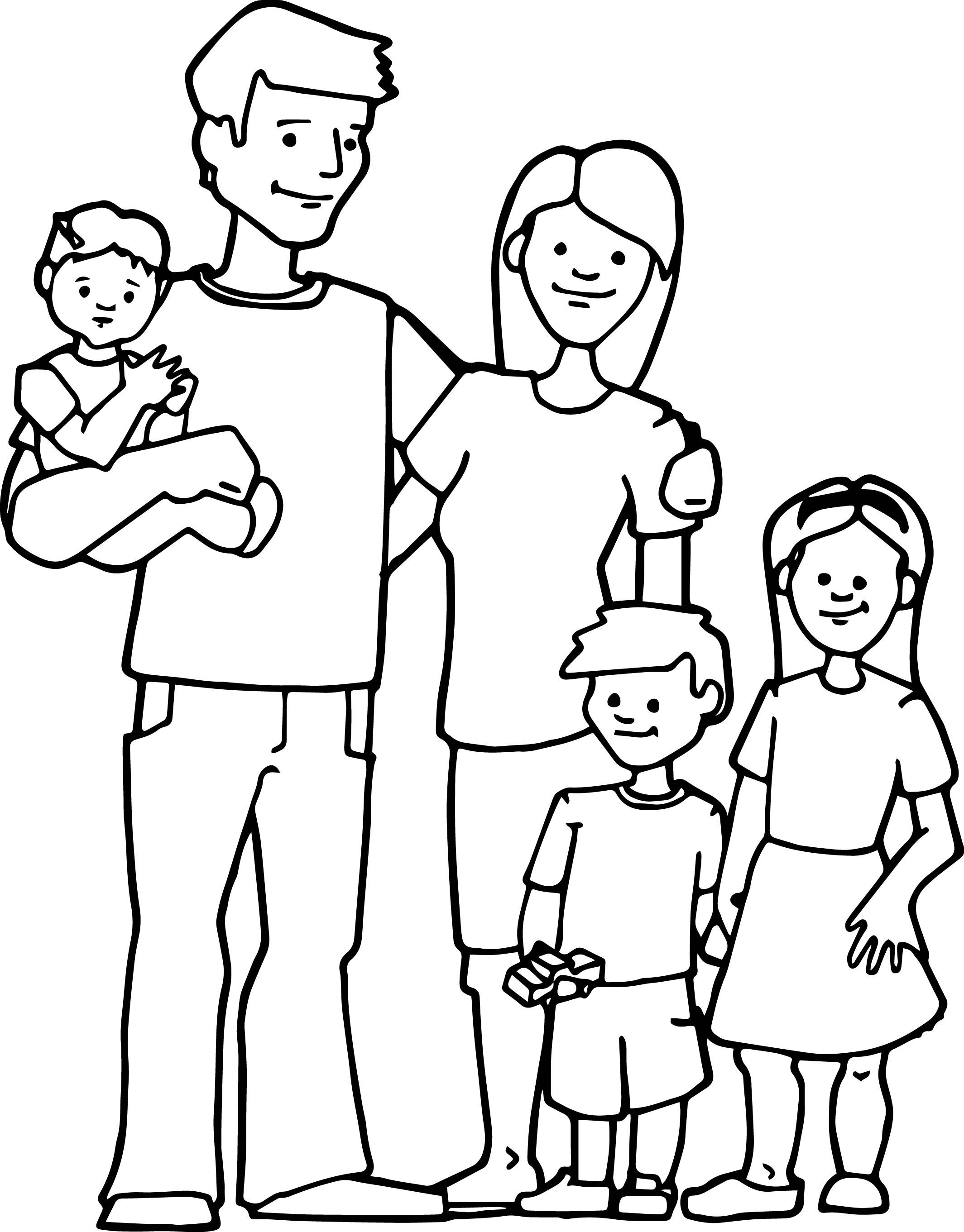 family coloring sheets free printable family coloring sheets for kids coloring family coloring sheets
