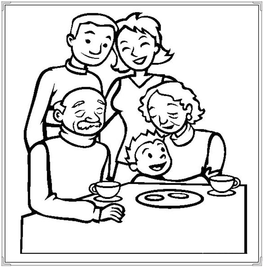 family coloring sheets get this family coloring pages printable for kids r1n7l coloring family sheets